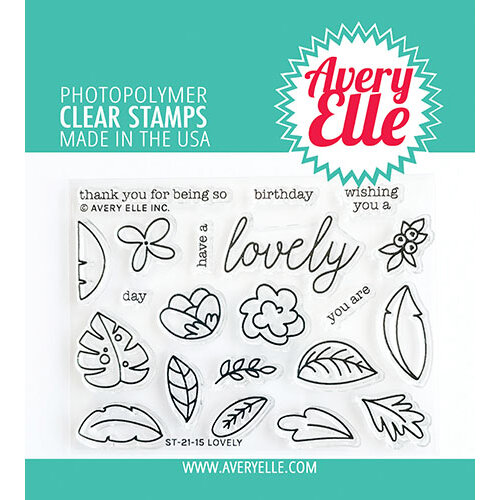 Avery Elle - Clear Photopolymer Stamps - Lovely
