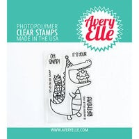 Avery Elle - Clear Photopolymer Stamps - Oh Snap