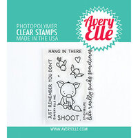 Avery Elle - Clear Photopolymer Stamps - Life