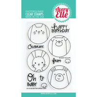 Avery Elle - Clear Photopolymer Stamps - Critter Circle Tags