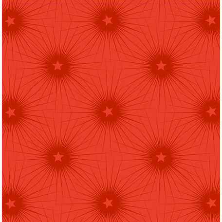 Anna Griffin - Twinkle Bright Collection - Christmas - 12 x 12 Paper - Red Stars