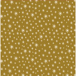 Anna Griffin - Twinkle Bright Collection - Christmas - 12 x 12 Paper - Gold Stars