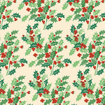 Anna Griffin - Twinkle Bright Collection - Christmas - 12 x 12 Paper - Holly