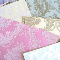Anna Griffin - Flocked Cardstock Kit