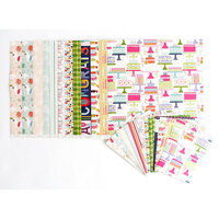 Anna Griffin - 5 x 7 Paper Pack - Birthday Bundle