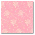 Anna Griffin - 12x12 Paper - LuLu Collection - Flower