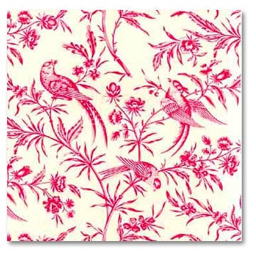 Anna Griffin - 12x12 Paper - Dorothy Collection - Pink Toile, CLEARANCE