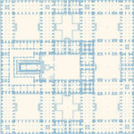 Anna Griffin - Flora Collection - 12 x 12 Paper - Flora Garden Plan Blue, CLEARANCE