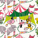 Anna Griffin - Riley Collection - 12 x 12 Paper - Circus, CLEARANCE