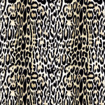 Anna Griffin - Peyton Collection - 12 x 12 Flocked Paper - Leopard, CLEARANCE