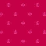 Anna Griffin - Peyton Collection - 12 x 12 Paper - Medallion Dark Pink