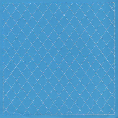 Anna Griffin - Isabelle Collection - 12 x 12 Stitched Cardstock - Blue, CLEARANCE