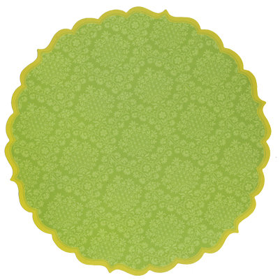 Anna Griffin - Isabelle Collection - 12 x 12 Die Cut Paper - Green, CLEARANCE