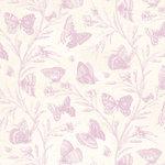 Anna Griffin - Cecile Collection - 12 x 12 Paper - Lavender Butterflies
