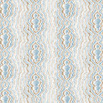 Anna Griffin - Calisto Collection - 12 x 12 Glittered Paper - Blue Fauxbois, CLEARANCE