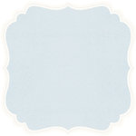 Anna Griffin - Calisto Collection - 12 x 12 Die Cut Paper - Blue, CLEARANCE