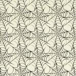 Anna Griffin - Esmerelda Collection - Halloween - 12 x 12 Glittered Paper - Black Webbing, CLEARANCE
