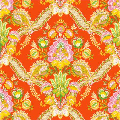 Anna Griffin - Carmen Collection - 12 x 12 Paper - Tropicana Orange