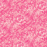 Anna Griffin - Carmen Collection - 12 x 12 Paper - Rose Tonal - Pink