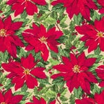 Anna Griffin - Cecile Christmas Collection - 12 x 12 Paper - Poinsettia