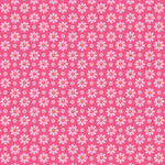 Anna Griffin - Lizzie Collection - 12 x 12 Paper - Pink Daisy