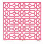 Anna Griffin - Palmer Collection - 12 x 12 Designer Die Cut Paper - Pink
