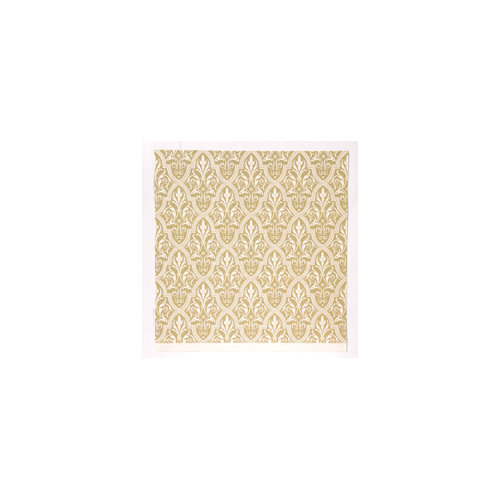 Anna Griffin - Camilla Collection - 12 x 12 Double Sided Paper - Damask
