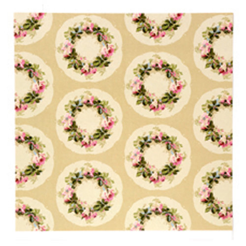 Anna Griffin - Camilla Collection - 12 x 12 Double Sided Paper - Wreath