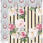 Anna Griffin - Eleanor Collection - 12 x 12 Double Sided Paper - Cardstock 1
