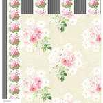 Anna Griffin - Eleanor Collection - 12 x 12 Double Sided Paper - Cardstock 6