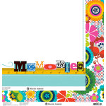 Anna Griffin - Gabbie Collection - 12 x 12 Double Sided Paper - Serendipity White