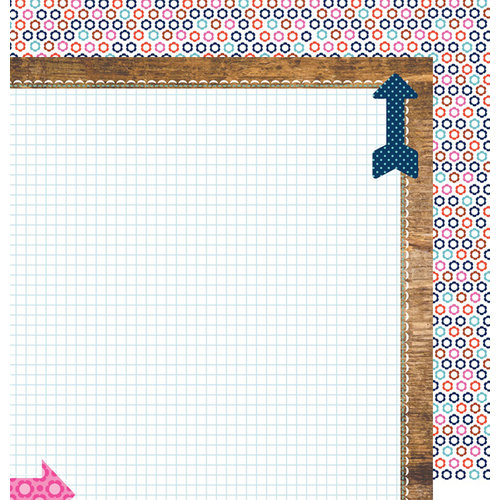 Anna Griffin - Gabbie Collection - 12 x 12 Double Sided Paper - Cardstock
