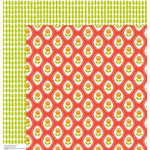 Anna Griffin - Gabbie Collection - 12 x 12 Double Sided Paper - Cameo Coral
