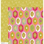 Anna Griffin - Blomma Collection - 12 x 12 Double Sided Paper - Keiko Pink