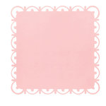 Anna Griffin - Olivia Collection - 12 x 12 Designer Die Cut Layers - Pink