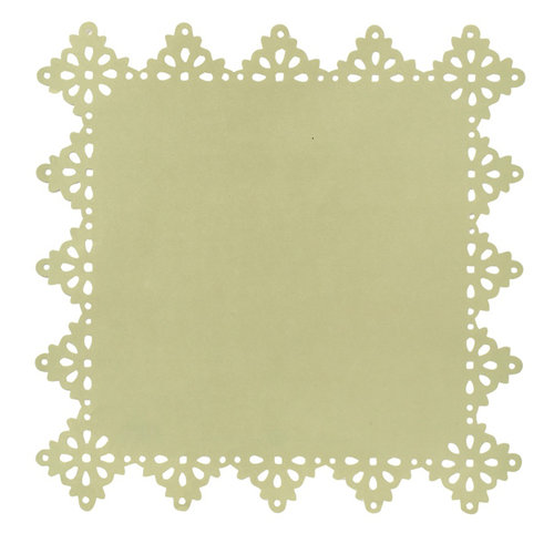Anna Griffin - Olivia Collection - 12 x 12 Designer Die Cut Layers - Green