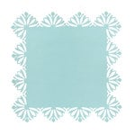 Anna Griffin - Hope Chest Collection - 12 x 12 Designer Die Cut Paper Layers - Turquoise