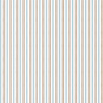 Anna Griffin - Masculine Collection - 12 x 12 Paper - Brown and Blue Stripe