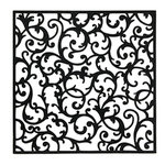Anna Griffin - Endora Collection - Halloween - 12 x 12 Die Cut Paper with Glitter Accents - Black