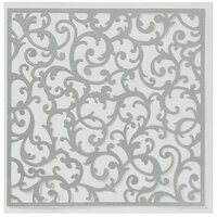 Anna Griffin - Endora Collection - Halloween - 12 x 12 Die Cut Paper with Glitter Accents - Silver