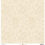 Anna Griffin - Fancy French Collection - 12 x 12 Paper - Ivory