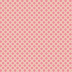 Anna Griffin - Rose Collection - 12 x 12 Cardstock - Pink and Gold Harlequin