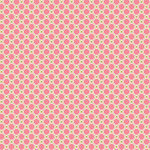 Anna Griffin - Rose Collection - 12 x 12 Paper - Pink and Gold Harlequin