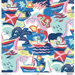 Anna Griffin - Seafarer Collection - 12 x 12 Cardstock - Regatta