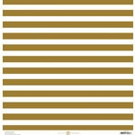 Anna Griffin - Seafarer Collection - 12 x 12 Cardstock - Stripe