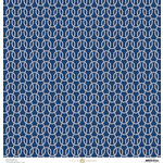 Anna Griffin - Seafarer Collection - 12 x 12 Paper - Carrick Bend