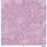 Anna Griffin - Charlotte Collection - 12 x 12 Cardstock - Paisley