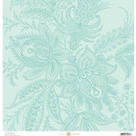 Anna Griffin - Charlotte Collection - 12 x 12 Cardstock - Protea