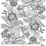 Anna Griffin - Charlotte Collection - 12 x 12 Cardstock - Leaf Stripe