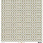 Anna Griffin - Charlotte Collection - 12 x 12 Cardstock with Foil Accents - Gray